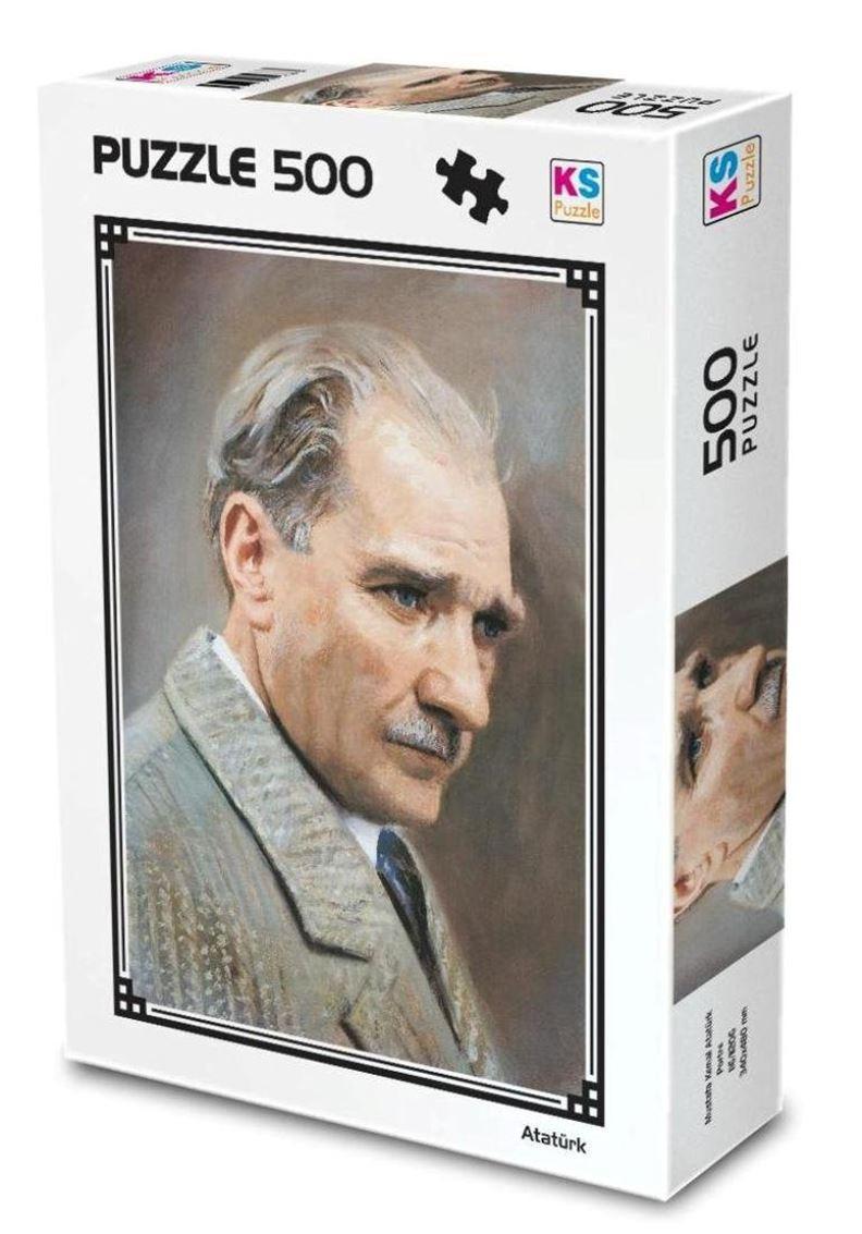 Ks Games Puzzle Atatürk Yağlı Boya 500 Parça